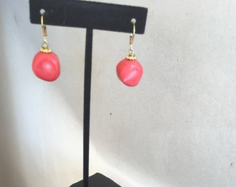 Coral  Earrings by Dobka