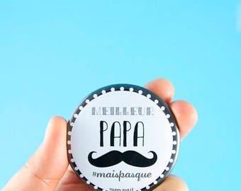 Best dad black mustache bottle opener