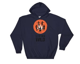 Achilles8 Living Wild Hooded Sweatshirt