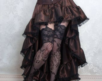 Airship Pirate Steampunk Skirt or Costume - Ready to Ship