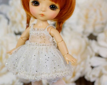 Lati Yellow/ Puki Fee - ''Twinkling Stars'' Dress - CreamColor - Basic