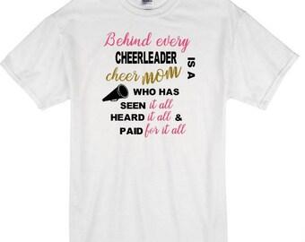 Cheer Mom Tshirt, Cheer Mom shirt, Cheer Mom Tee, Cheer Mom, Cheerleader Mom, Competition Cheer Mom, Cheerleading Mom, Cheer Mom Clothing