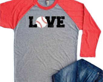 Womens Baseball Shirts, Gifts for Women, Baseball shirt, Baseball Tshirt Women, Baseball Raglan Tee, Baseball Mom shirts, Womens Gifts