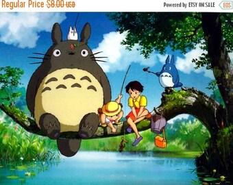 "Totoro Cross Stitch Totoro Pattern miyazaki pattern miyazaki cross stitch needlepoint kreuzstitch - 35.43"" x 26.43"" - L268"