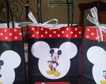 Candy Bags Mickey Mouse