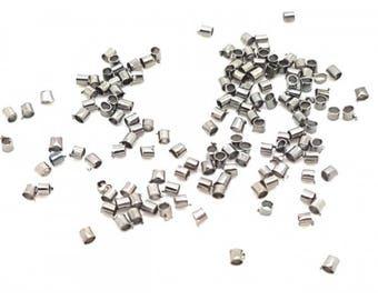 1000 crimp tubes 1.5 mm gunmetal beads