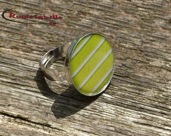 Tennis ball round, Adjustable ring