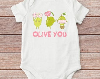 20% Baby shower gift, Funny Baby Clothes, Funny baby bodysuit, Olive baby bodysuit, Baby girl, Baby Boy