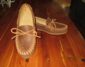 Tan Leather Moccasin