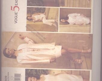 VINTAGE Vogue 5 Easy Pieces 1609 (1995); Misses' Jacket, Belt,  Dress, Top, Skirt & Pants (Easy) - Size 12-14-16 - Size - CUT