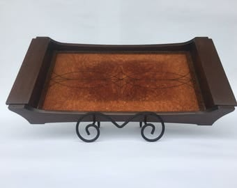 10 x 20 Serving Tray Redwood Burl