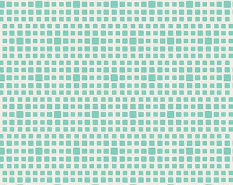 1 Yard Squared Elements coordinates with Reverie Fusions by AGF Studio - Seaglass 622