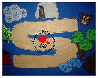 Going on a Bear Hunt, Felt Story, ECE, Preschool, Circle Time, Felt Story Board, Flannel Board, Storytime, Teacher Resource