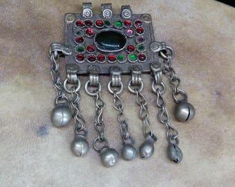Kuchi pendant etsy 325 vintage kuchi pendant tribal finding for diy creations aloadofball Gallery