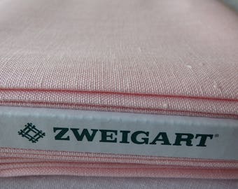 Zweigart Newcastle 16 Rose collar 4064 son
