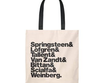 Band Line-Up Tote Bag: Bruce Springsteen & The E-Street Band (Ships from USA)