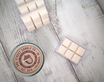 Soy Wax Melt, BLOOD ORANGE + COCONUT scented, soy wax tart, wax warmer, summer fragrance