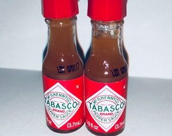 Pack of 2 Mini Tabasco Bottles