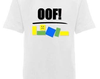 Oof Roblox Noob Shirt, Gift for Child, Gift for Kid, Gift for Gamer, Under 25, Gaming Shirt, Computer Game
