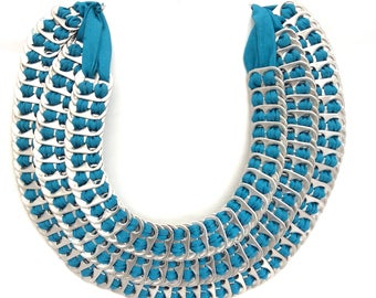 "Lumago Designs ""Marife"" Pull Tab Necklace"