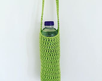 Water Bottle Crochet Holder