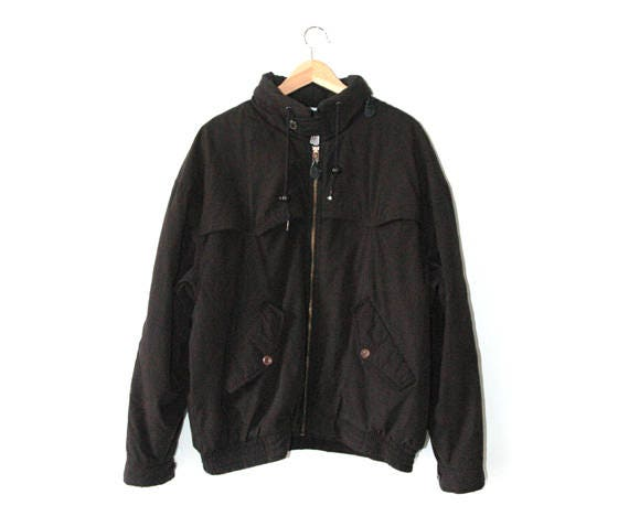 Black jacket, 80s jacket, retro jacket,