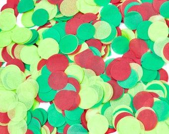 Dr. Seuss Christmas Confetti, Green Red Confetti, Shred, Table Decor, Confetti Balloon Winter Seasonal Holiday Decor Non-Traditional Decor