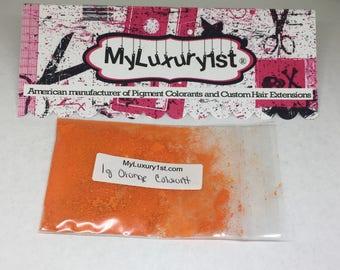 Matte Yellow #6 Orange bath bomb colorant cold process melt and pour loose pigment powder mineral colorant for soap and cosmetics