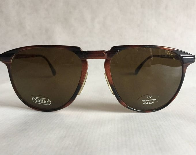 Safilo Sporting 3640/S Folding Vintage Sunglasses Made in Italy in 1990 Including Case NOS