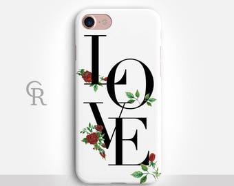 Love iPhone 8 Plus Case For iPhone 8 iPhone 8 Plus - iPhone X - iPhone 7 Plus - iPhone 6 - iPhone 6S - iPhone SE - Samsung S8 - iPhone 5