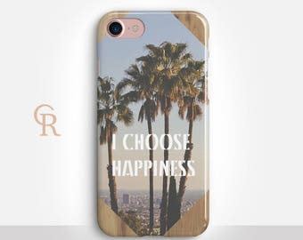 Inspirational Phone Case For iPhone 8 iPhone 8 Plus iPhone X Phone 7 Plus iPhone 6 iPhone 6S  iPhone SE Samsung S8 iPhone 5 Palm Leaves