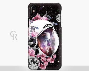 Astronaut Phone Case For iPhone 8 iPhone 8 Plus - iPhone X - iPhone 7 Plus - iPhone 6 - iPhone 6S - iPhone SE - Samsung S8 - iPhone 5 Nasa