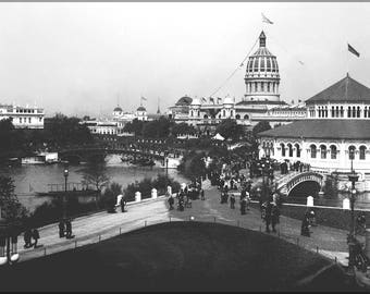 Poster, Many Sizes Available; Jackson Park (Chicago) During The 1893 World'S Columbian Exposition Chicago Worlds Fair