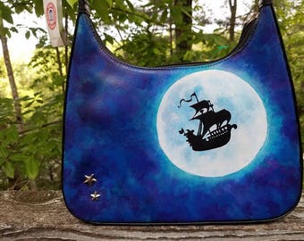 Upcycled Peter Pan Purse