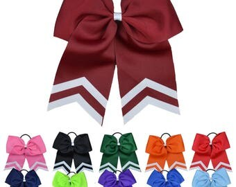 Solid Varsity Cheer Bow