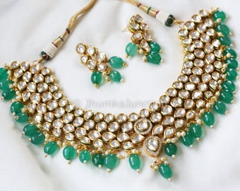 Kundan necklace, Indian wedding, Bollywood Necklace, Kundan Necklace, Indian Bridal Jewelry