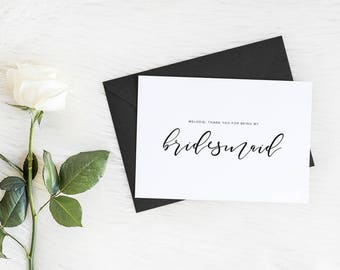 Bridesmaid Proposal Card, Maid of Honor Proposal Card, Will you be my bridesmaid, Will you be my maid of honor, Will you be, Wedding Card