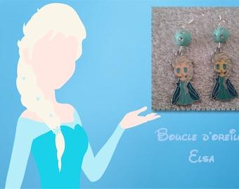 Earring Queen frozen - Elsa