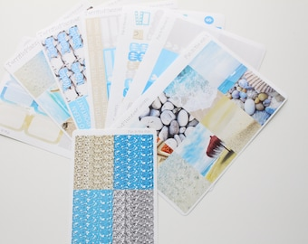 Fun In The Sun Beach Weekly Planner Sticker Kit and Washi