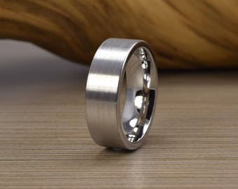 Men's Cobalt Wedding Band - Men's Wedding Ring -SE - Women's Wedding Ring - Men's Ring - Wedding Band