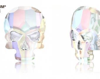 Swarovski 2856 - Skull Crystal Flatback Rhinestone