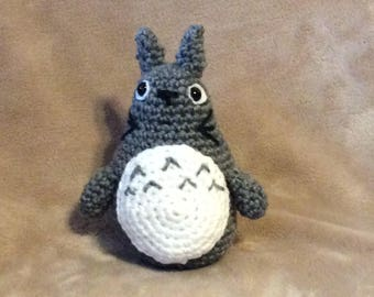 Crocheted Totoro / Amigurumi Totoro