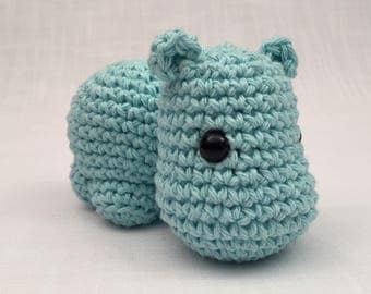 Crochet amigurumi Hippo toy, Stuffed Toy, Plush, Plushy, Stuffed Animal, Toy, Stuffed hippo, baby toy, Baby Shower Gift, crochet amigurumi