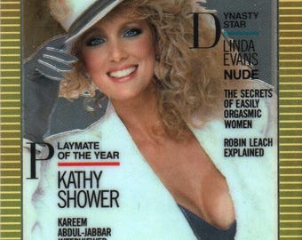 MATURE - Playboy Trading Card Chromium Cover Cards II - #177 June 1986
