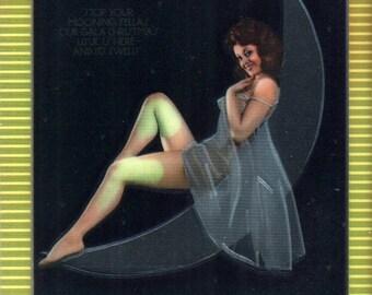 MATURE - Playboy Trading Card Chromium Cover Cards - #44 December 1973