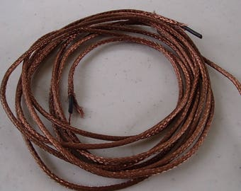 Copper wire Braided~shielded~stranded 2 pieces each 7 foot long