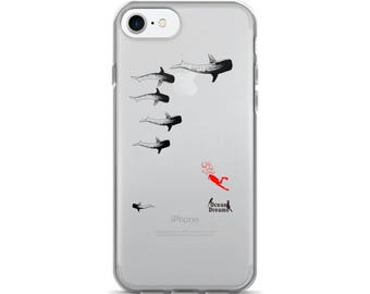 Whale Sharking iPhone 7/7 Plus Case