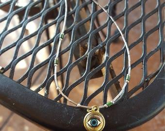 Evil Eye Handmade Necklace