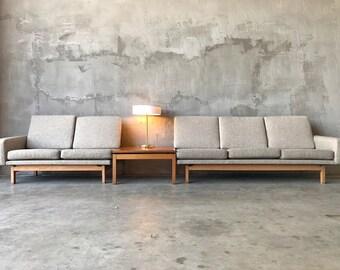 Modular Sectional Sofa & Lounge Chair.