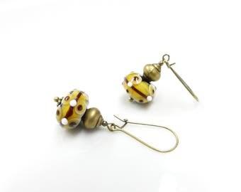 Bohemian earrings ~ India ~